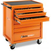 Wózek narzędziowy bez wyposażenia z 7 szufladami Beta 9324/C04O-7NEW