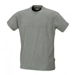 T-shirt bawełniany szary Beta 7548G