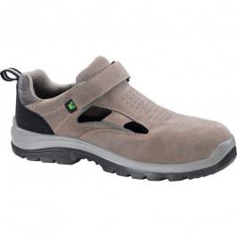 Sandały robocze zamszowe beżowe S1 SKL510707
