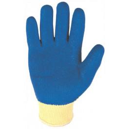 Bezszwowe rękawice Beta SK2102 z dzianiny poliestrowej LATEX-JYDO1