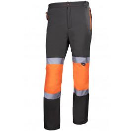 Spodnie robocze softshell o intensywnej widoczności Vizwell VWJK425OG