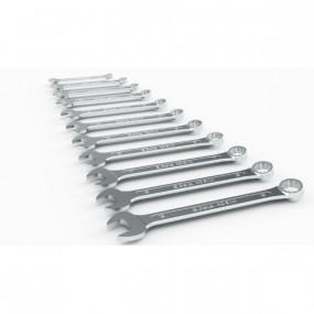 Komplet 8 kluczy płasko-oczkowych o zmniejszonej grubości Beta 42SLIM/B8I - rozmiary: 10-19mm