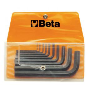 """Komplet 11 kluczy trzpieniowych Beta 96AS/B11 - rozmiary: 1/20""""-3/8''"""