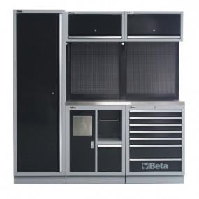 Zestaw mebli warsztatowych system C45 Beta 4500/C45/CX