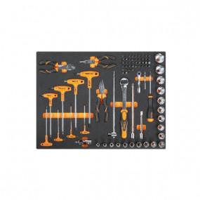 Zestaw 80 narzędzi w miękkim wkładzie profilowanym Beta 2450/MB38