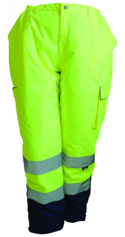 cd4665f111e711 ... Spodnie ostrzegawcze ocieplane 300D typu OXFORD żółte Vizwell VWJK187Y.  VWJK187Y