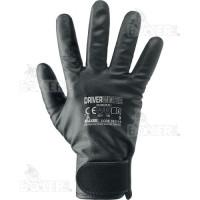 Bezszwowe techniczne rękawice nylonowe z podszewką polarową Boxer 353115