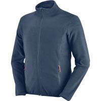 Bluza GSTAAD niebieska z mikropolaru Greenbay 455095
