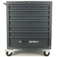Wózek narzędziowy bez wyposażenia z 7 szufladami Beta 9324/C04G-7NEW