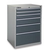 Skrzynia narzędziowa z 6 szufladami Beta 3500/C35/6G