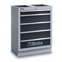 Moduł stały z 5 szufladami Beta 4500/C45M5