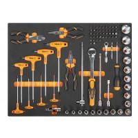 Zestaw 80 narzędzi w miękkim wkładzie profilowanym Beta 2450/MB35