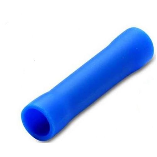 Złącza doczołowe izolowane niebieskie 100szt. PVC BM Group 00260 - przekrój: 1.5-2.5mm2