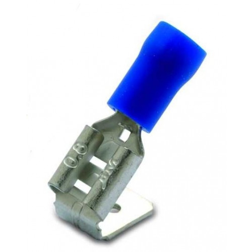 Nasuwki i wsuwki izolowane z antywibracyjną tulejką miedzianą PVC 50szt. BM Group 00298 - przekrój: 1.5-2.5mm2