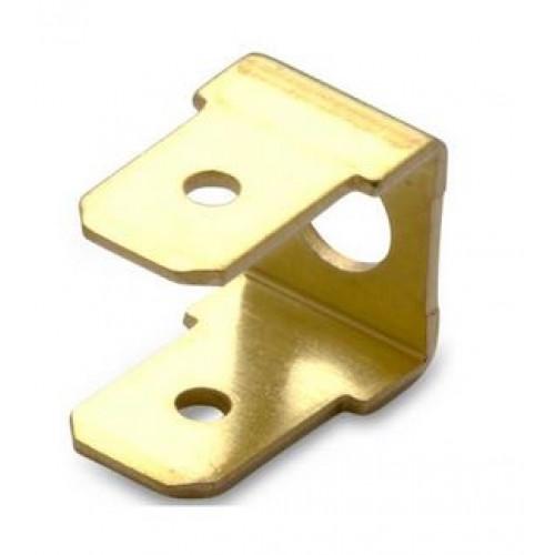Wsuwki podwójne nieizolowane 90DEG mosiężne przykręcane 100szt. BM Group 01014 - do wsuwki: 6.3x0.8mm
