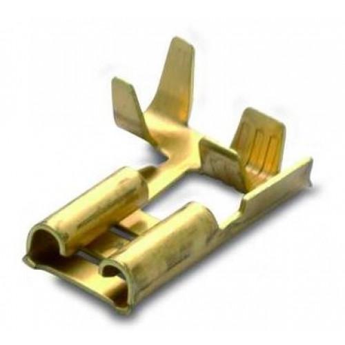 Nasuwki nieizolowane mosiężne 100szt. flagowe BM Group 01295 – przekrój: 1.5-2.5mm2