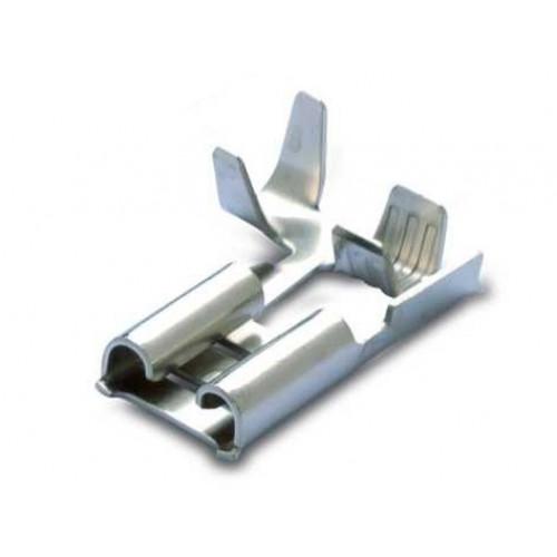 Nasuwki nieizolowane mosiężne cynowane 100szt. flagowe BM Group 01196 – przekrój: 0.5-1mm2