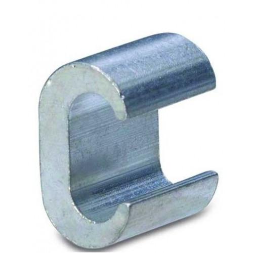 """Złącza miedziane cynowane boczne typu """"C"""" 15szt. BM Group 014181 - przekrój: 185-185mm2"""