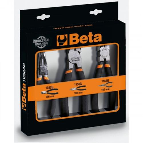 Zestaw 3 szczypiec Beta 1169G/D3