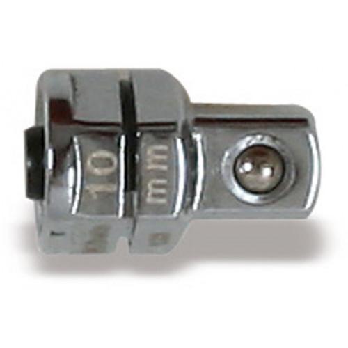 Uchwyt przejściowy z blokadą do nasadek 1/4' 'do klucza oczkowego 10mm Beta 123Q1/4