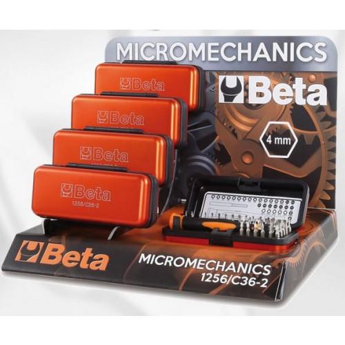 Zestaw 5 wkrętaków z akcesoriami Beta 1256/C36-2
