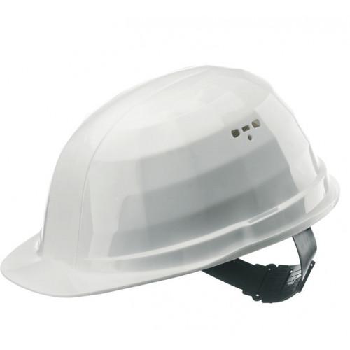 Hełm ochronny z polietylenu Apollo biały LAS 131035