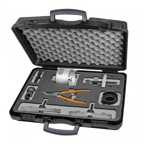 Zestaw 13 narzędzi do demontażu, montażu i regulacji sprzęgieł w 6- i 7- biegowych skrzyniach DSG VW Beta 1438K/DSG
