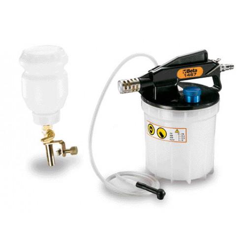 Urządzenie pneumatyczne do wymiany płynu w układzie hamulcowym Beta 1467