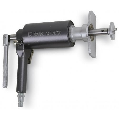 Przyrząd pneumatyczny do obracania i cofania lewych i prawych tłoczków zacisków hamulcowych z akcesoriami Beta 1471M/50