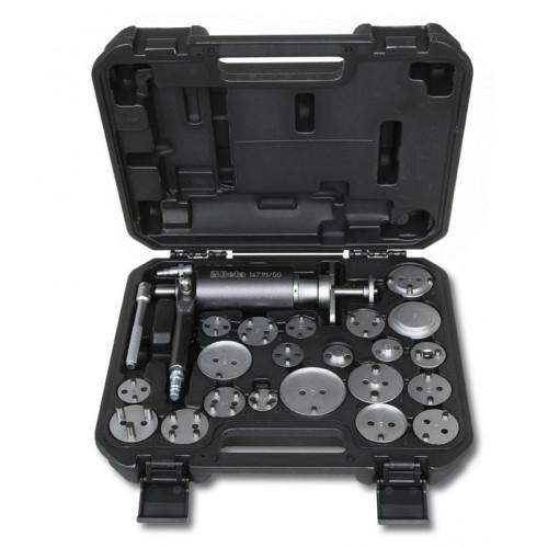 Walizka 22 narzędzia do obracania i cofania lewych i prawych tłoczków zacisków hamulcowych Beta 1471M/C22