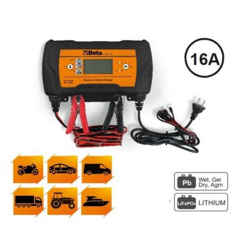 Ładowarka akumulatorowa wielofunkcyjna 12-24V Beta 1498/16A