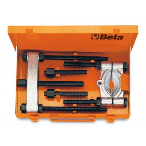Zestaw ściągacz z przedłużkami i separator w pudełku Beta 1535/C4
