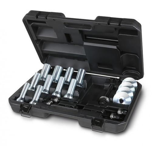 Zestaw narzędzi do zdejmowania i zakładania tulei metalowo-gumowych, uszczelek olejowych i łożysk kół Beta 1569/B