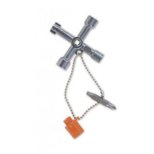 Klucz krzyżakowy do szaf sterowniczych Beta 1600Q8