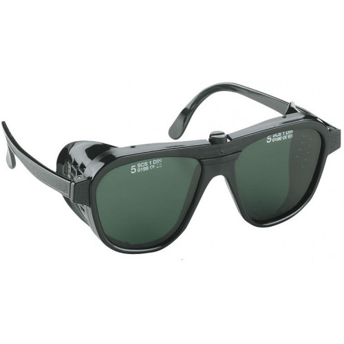 Okulary ochronne zielone Beluna/V Generico 161040