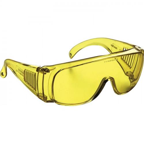 Okulary ET30 żółte z poliwęglanu Newtec 162009