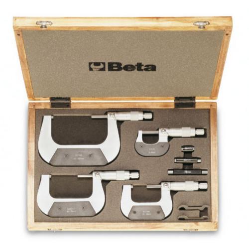 Zestaw 4 mikrometrów Beta 1658/C4