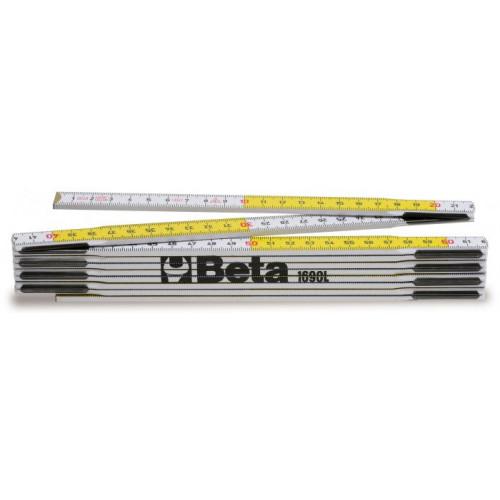 Przymiar składany z drewna brzozy Beta 1690L/2