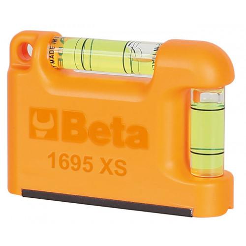Poziomnica kieszonkowa mini z 2 libelkami Beta 1695XS