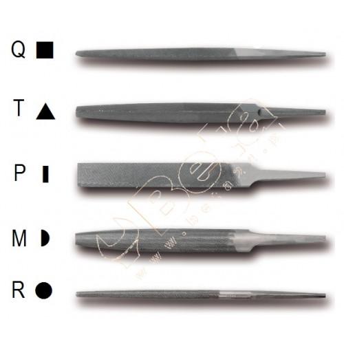 """Pilniki półgładziki 6"""" -150 mm bez rękojeści Beta 1718A6"""