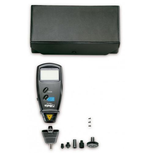 Tachometr elektroniczny do pomiarów kontaktowych i bezkontaktowych Beta 1760/TC2