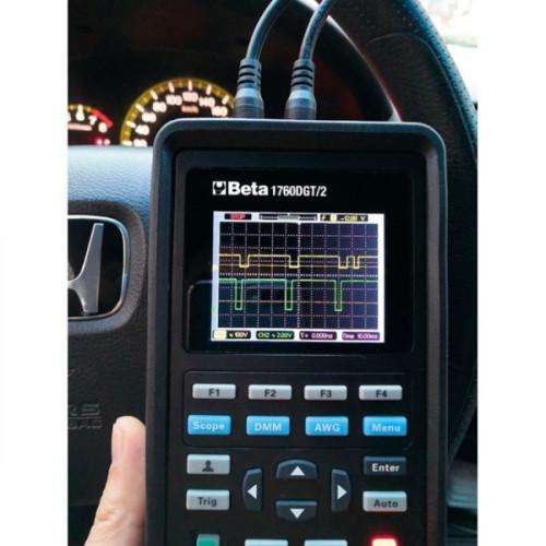Miernik cyfrowy z oscyloskopem dwukanałowym i generatorem fal Beta 1760DGT/2