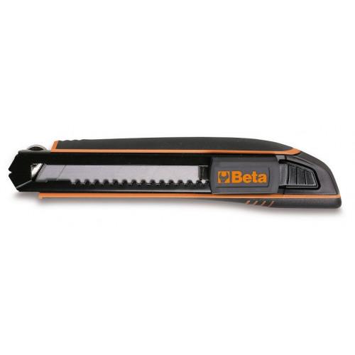 Nóż z ostrzem chowanym 18mm dostarczany z 6 ostrzami Beta 1771HD