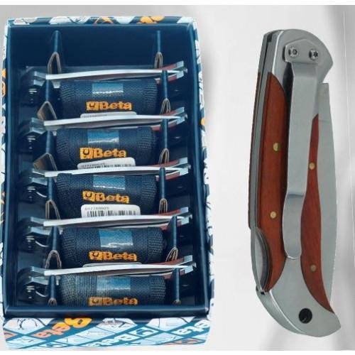 Zestaw 11 noży składany z ostrzem ze stali nierdzewnej Beta 1778W