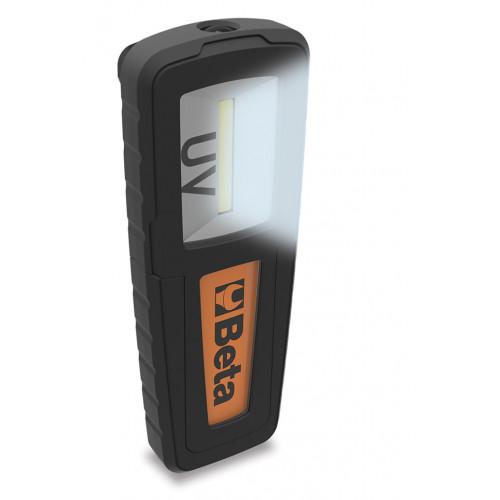 Lampa akumulatorowa ze źródłami światła białego i UV Beta 1838UV