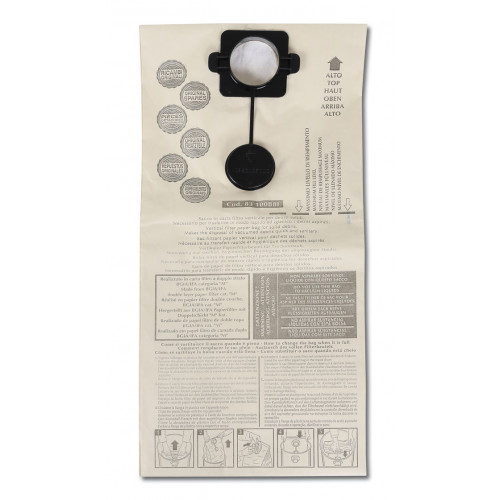 5 worków papierowych Beta 1874-50/5S do odkurzacza Beta 1874
