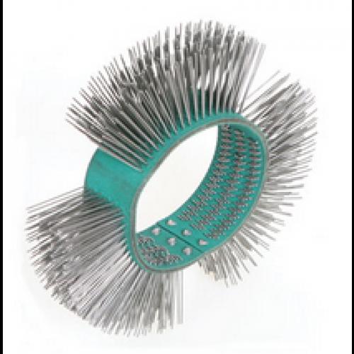 Szczotka druciana obrotowa wykańczająca (11mm) prosta Beta 1937M-03 do szlifierki Beta 1937M