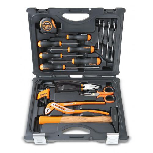 Walizka z zestawem 27 narzędzi do użytku domowego Beta 2055HB
