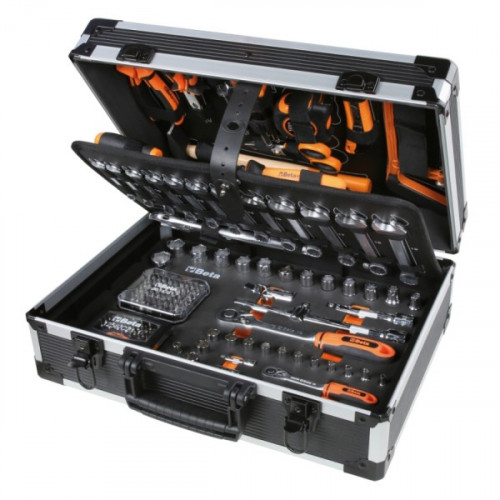 Zestaw 163 narzędzi w walizce Beta 2056E/E-20