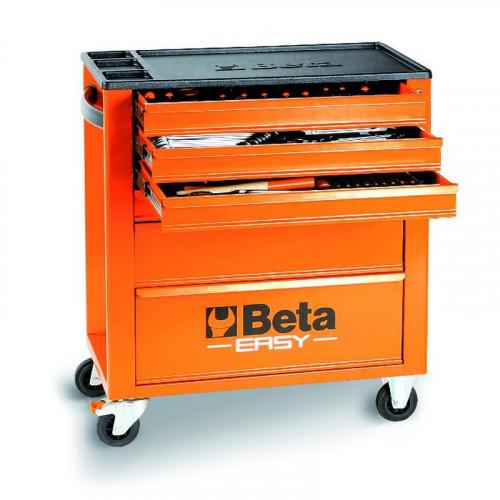 Wózek narzędziowy bez wyposażenia Beta Easy z 6 szufladami Beta 2400/C24E6O